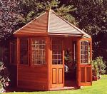 Summerhouses, Garden Sheds, Timber Greenhouses and Children's Playhouses from Midland Portable Garden Buildings